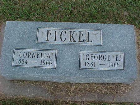 FICKEL, CORNELIA - Henry County, Iowa | CORNELIA FICKEL
