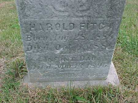 FITCH, HAROLD - Henry County, Iowa   HAROLD FITCH