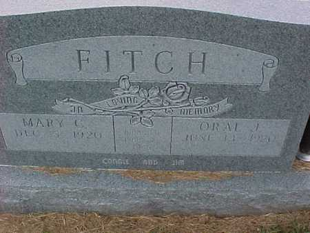 FITCH, MARY - Henry County, Iowa | MARY FITCH
