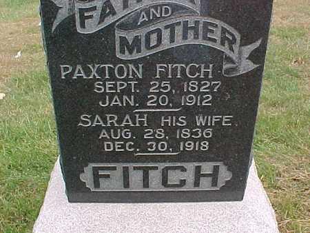 FITCH, SARAH - Henry County, Iowa | SARAH FITCH
