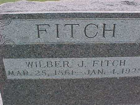 FITCH, WILBER J. - Henry County, Iowa | WILBER J. FITCH