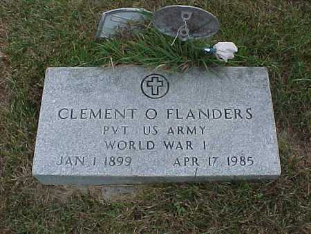 FLANDERS, CLEMENT O. - Henry County, Iowa | CLEMENT O. FLANDERS