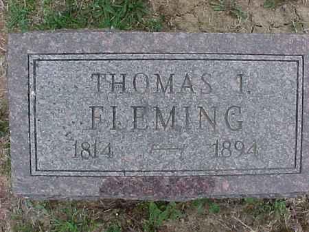 FLEMING, THOMAS - Henry County, Iowa | THOMAS FLEMING