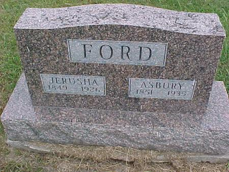 FORD, JERUSHA - Henry County, Iowa | JERUSHA FORD