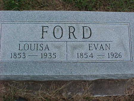 FORD, LOUISA - Henry County, Iowa | LOUISA FORD