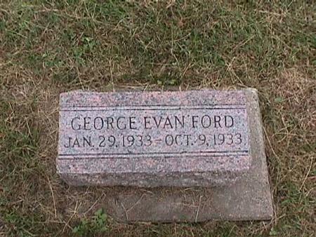 FORD, GEORGE EVAN - Henry County, Iowa | GEORGE EVAN FORD