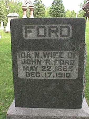 FORD, IDA N. - Henry County, Iowa | IDA N. FORD