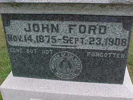 FORD, JOHN - Henry County, Iowa | JOHN FORD
