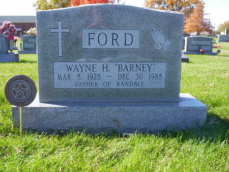 FORD, WAYNE H. - Henry County, Iowa | WAYNE H. FORD