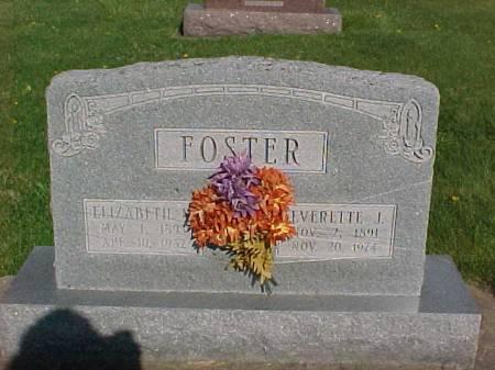 FOSTER, ELIZABETH M - Henry County, Iowa | ELIZABETH M FOSTER