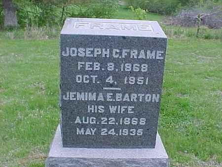 FRAME, JOSEPH - Henry County, Iowa | JOSEPH FRAME