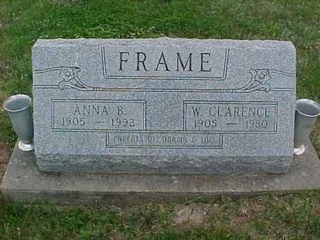 FRAME, W. CLARENCE - Henry County, Iowa | W. CLARENCE FRAME