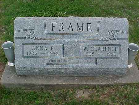 FRAME, ANNA - Henry County, Iowa | ANNA FRAME