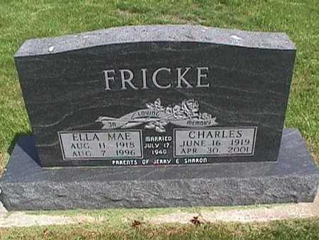 FRICKE, CHARLES - Henry County, Iowa | CHARLES FRICKE