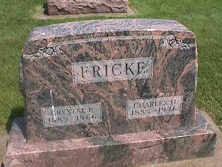 FRICKE, CRYSTAL - Henry County, Iowa | CRYSTAL FRICKE