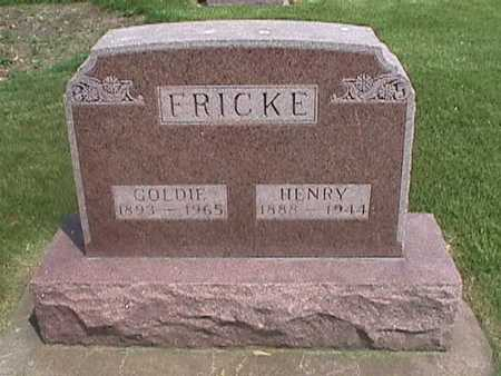 FRICKE, GOLDIE - Henry County, Iowa   GOLDIE FRICKE