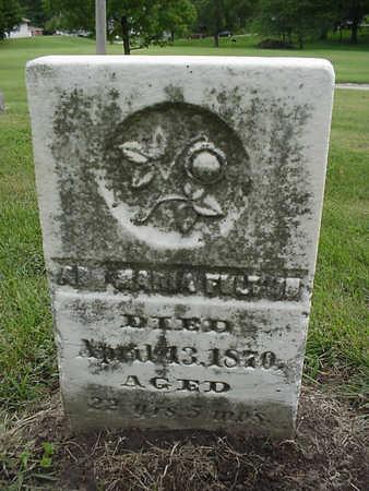 FULTON, ANN MARIA - Henry County, Iowa | ANN MARIA FULTON
