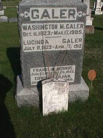GALER, FRANKLIN MONROE - Henry County, Iowa | FRANKLIN MONROE GALER