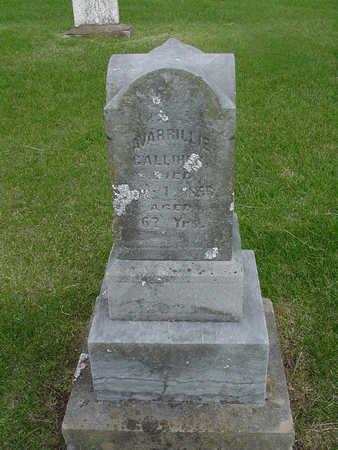 GALLIHER, AVARRILLIE - Henry County, Iowa | AVARRILLIE GALLIHER