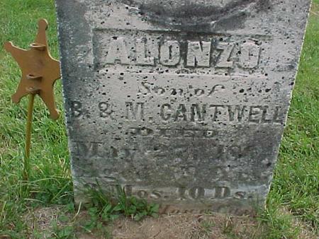 CANTWELL, ALONZO - Henry County, Iowa | ALONZO CANTWELL