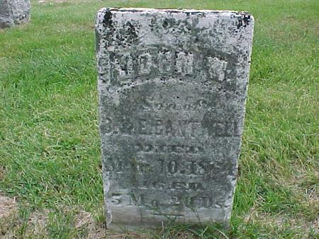 CANTWELL, JOHN W - Henry County, Iowa | JOHN W CANTWELL