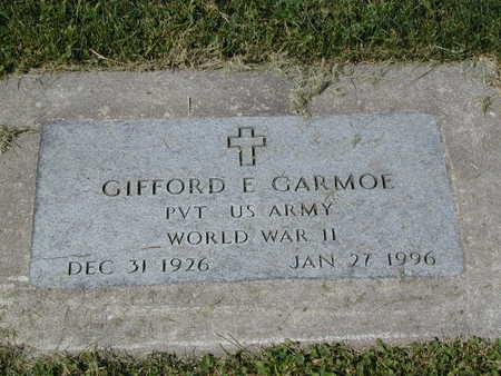 GARMOE, GIFFORD E. - Henry County, Iowa | GIFFORD E. GARMOE