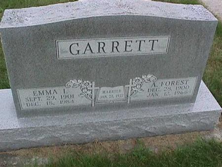 GARRETT, A. FOREST - Henry County, Iowa | A. FOREST GARRETT