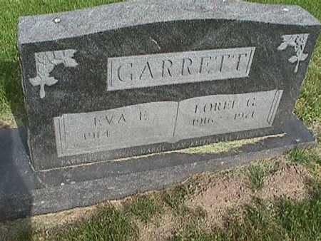 GARRETT, EVA - Henry County, Iowa | EVA GARRETT