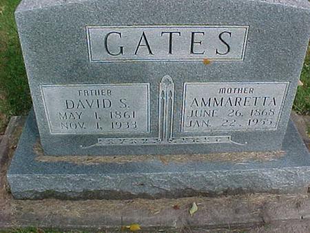GATES, DAVID S - Henry County, Iowa | DAVID S GATES
