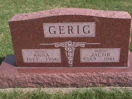 GERIG, JACOB - Henry County, Iowa | JACOB GERIG