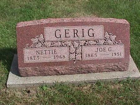 GERIG, JOE C. - Henry County, Iowa | JOE C. GERIG