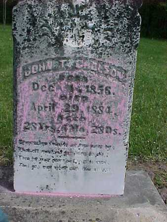 GHOLSON, JOHN T. - Henry County, Iowa | JOHN T. GHOLSON