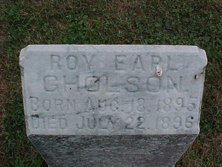 GHOLSON, ROY EARL - Henry County, Iowa | ROY EARL GHOLSON