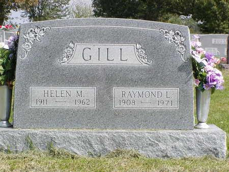 GILL, HELEN M - Henry County, Iowa | HELEN M GILL