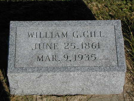 GILL, WILLIAM G. - Henry County, Iowa | WILLIAM G. GILL