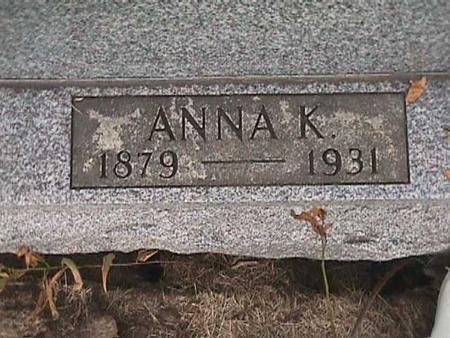 GOLDSMITH, ANNA K. - Henry County, Iowa | ANNA K. GOLDSMITH