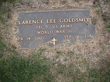 GOLDSMITH, CLARENCE LEE - Henry County, Iowa | CLARENCE LEE GOLDSMITH