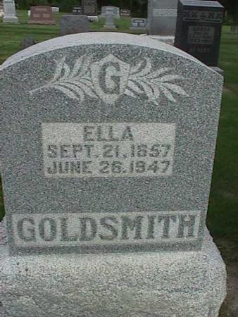 GOLDSMITH, ELLA - Henry County, Iowa | ELLA GOLDSMITH