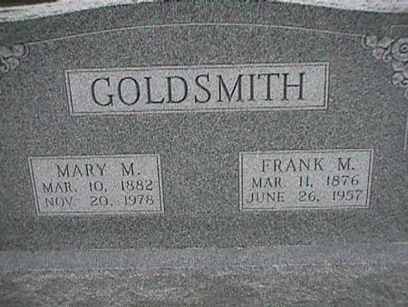 GOLDSMITH, FRANK - Henry County, Iowa | FRANK GOLDSMITH