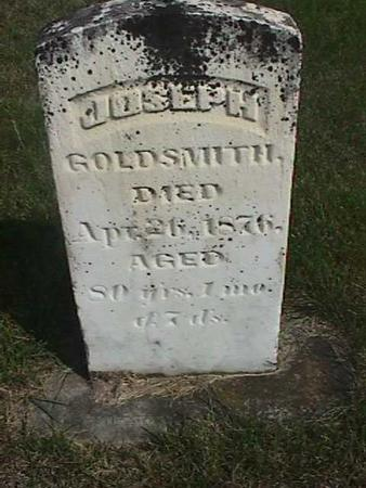 GOLDSMITH, JOSEPH - Henry County, Iowa | JOSEPH GOLDSMITH