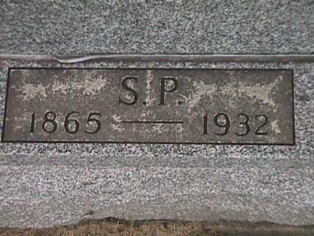 GOLDSMITH, S. P. - Henry County, Iowa   S. P. GOLDSMITH