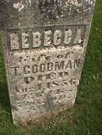 GOODMAN, REBECCA - Henry County, Iowa | REBECCA GOODMAN