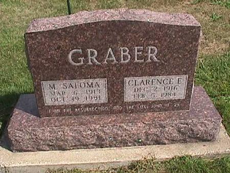 GRABER, M. SALOMA - Henry County, Iowa | M. SALOMA GRABER
