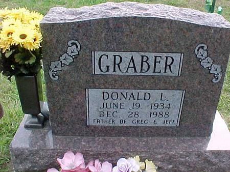 GRABER, DONALD L - Henry County, Iowa | DONALD L GRABER