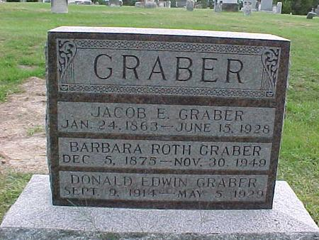 GRABER, DONALD EDWIN - Henry County, Iowa | DONALD EDWIN GRABER