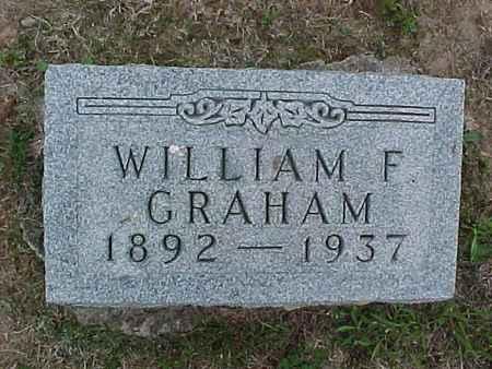 GRAHAM, WILLIAM - Henry County, Iowa   WILLIAM GRAHAM