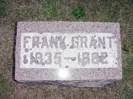 GRANT, FRANK - Henry County, Iowa | FRANK GRANT