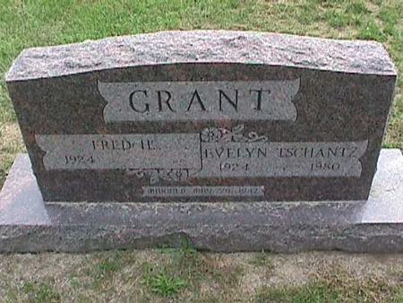 TSCHANTZ GRANT, EVELYN - Henry County, Iowa | EVELYN TSCHANTZ GRANT