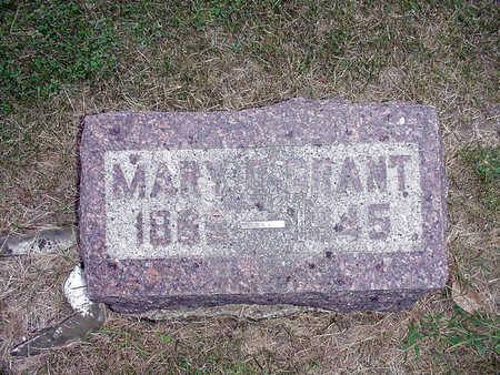 GRANT, MARY G. - Henry County, Iowa | MARY G. GRANT