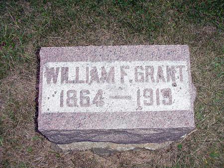 GRANT, WILLIAM F. - Henry County, Iowa | WILLIAM F. GRANT